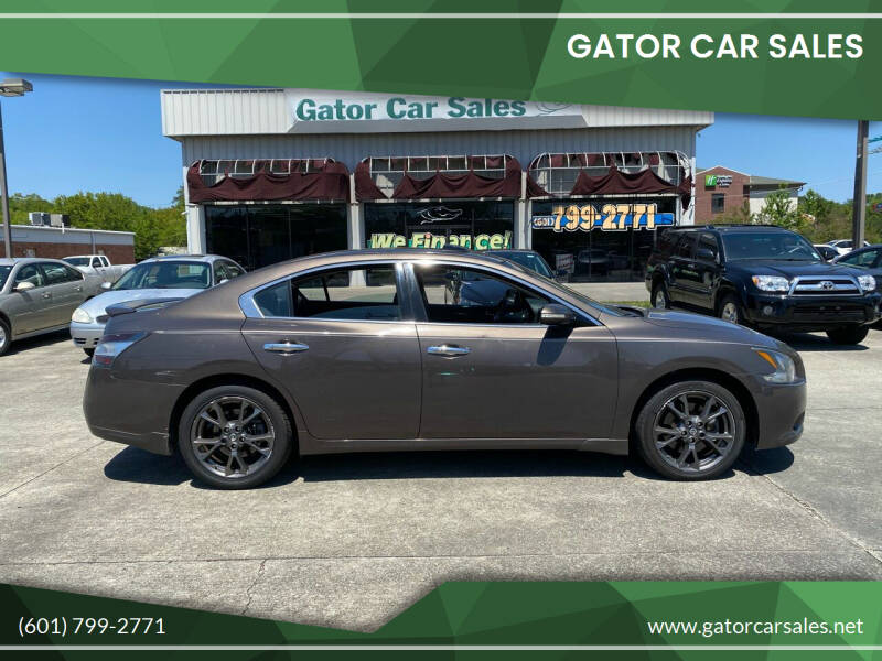 2014 Nissan Maxima for sale at Gator Car Sales in Picayune MS