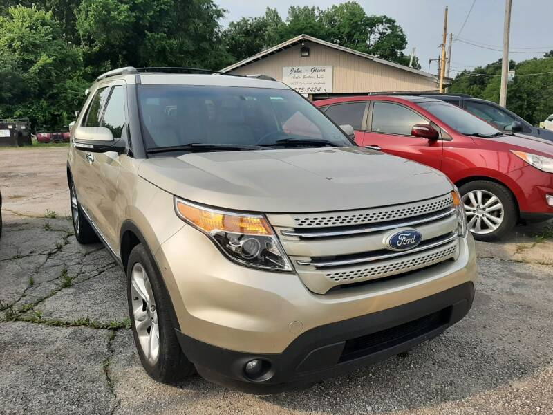 2011 Ford Explorer for sale at John - Glenn Auto Sales INC in Plain City OH