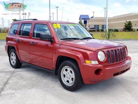 2008 Jeep Patriot for sale at GATOR'S IMPORT SUPERSTORE in Melbourne FL