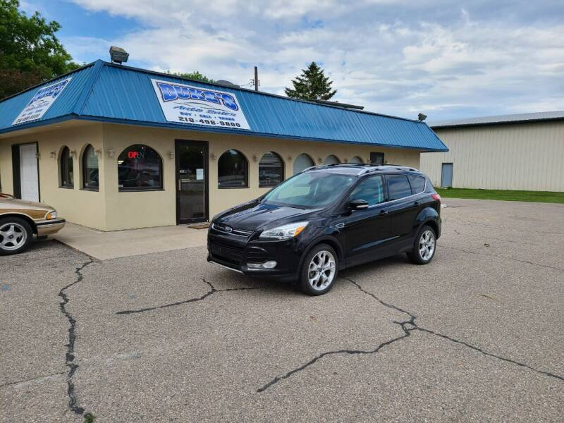 2013 Ford Escape for sale at Dukes Auto Sales in Glyndon MN