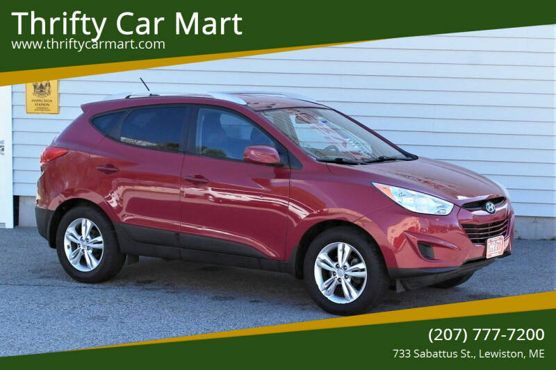 2011 Hyundai Tucson for sale at Thrifty Car Mart in Lewiston ME