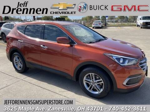 2018 Hyundai Santa Fe Sport for sale at Jeff Drennen GM Superstore in Zanesville OH