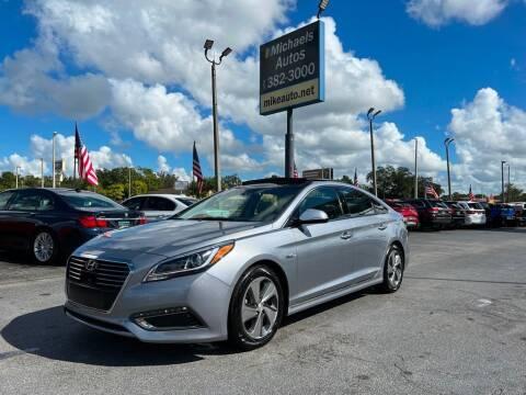 2016 Hyundai Sonata Hybrid for sale at Michaels Autos in Orlando FL