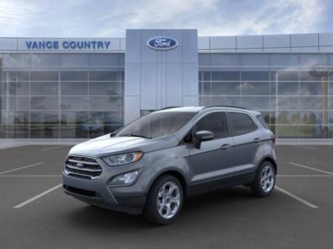 2021 Ford EcoSport for sale at Vance Fleet Services in Guthrie OK