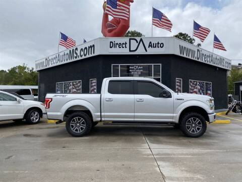 2015 Ford F-150 for sale at Direct Auto in D'Iberville MS