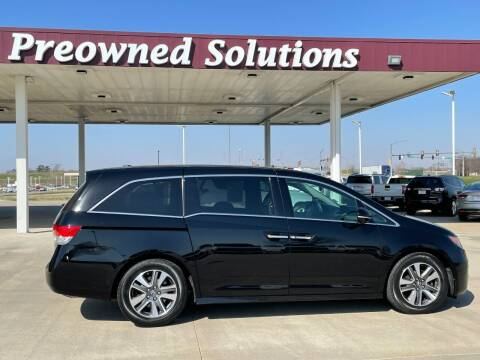 2015 Honda Odyssey for sale at Preowned Solutions in Urbandale IA