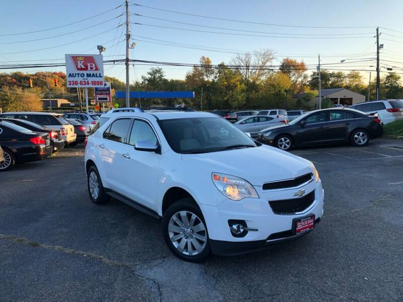 2010 Chevrolet Equinox for sale at KB Auto Mall LLC in Akron OH