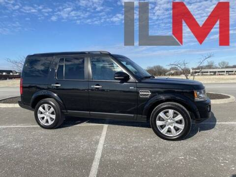 2014 Land Rover LR4 for sale at INDY LUXURY MOTORSPORTS in Fishers IN