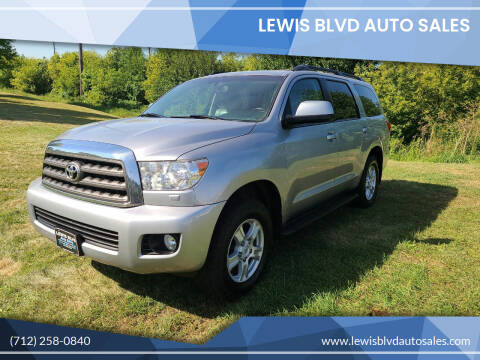 2013 Toyota Sequoia for sale at Lewis Blvd Auto Sales in Sioux City IA