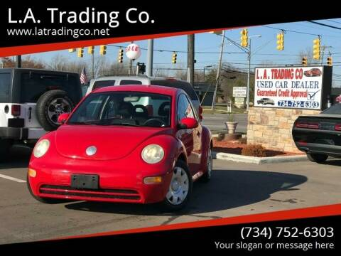 2002 Volkswagen New Beetle for sale at L.A. Trading Co. Woodhaven in Woodhaven MI