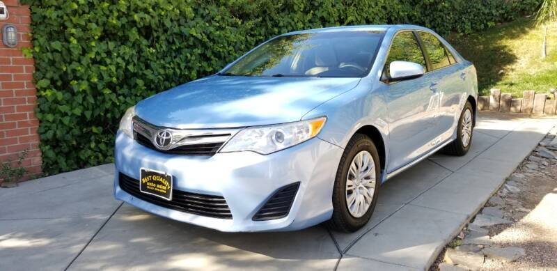 2012 Toyota Camry for sale at Best Quality Auto Sales in Sun Valley CA