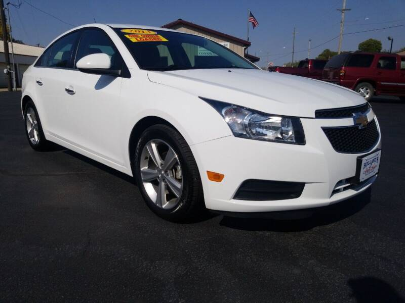 2013 Chevrolet Cruze for sale at Holland's Auto Sales in Harrisonville MO