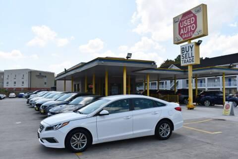 2017 Hyundai Sonata for sale at Houston Used Auto Sales in Houston TX