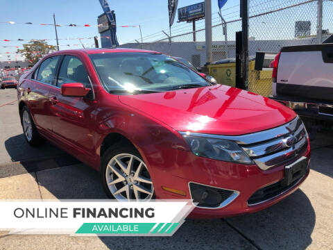 2010 Ford Fusion for sale at GW MOTORS in Newark NJ