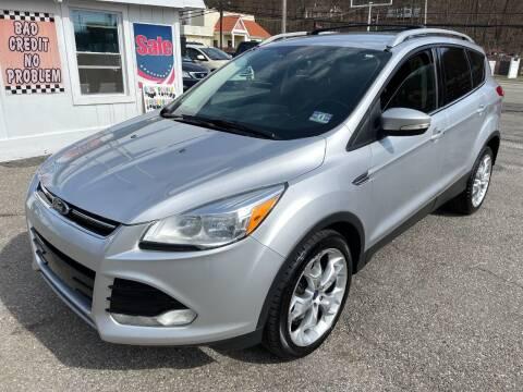2014 Ford Escape for sale at Auto Banc in Rockaway NJ