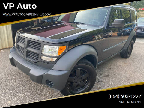2008 Dodge Nitro for sale at VP Auto in Greenville SC