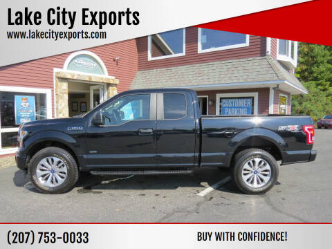 2017 Ford F-150 for sale at Lake City Exports - Lewiston in Lewiston ME