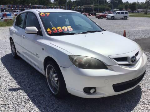 2007 Mazda MAZDA3 for sale at K & E Auto Sales in Ardmore AL