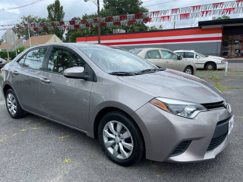 2014 Toyota Corolla for sale at Car Complex in Linden NJ