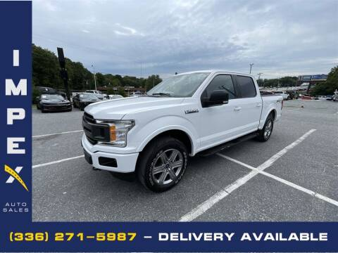 2019 Ford F-150 for sale at Impex Auto Sales in Greensboro NC