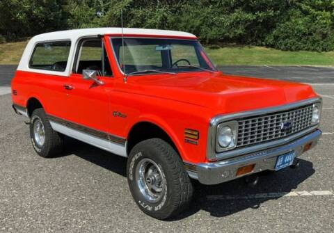 1972 Chevrolet Blazer for sale at Classic Car Deals in Cadillac MI