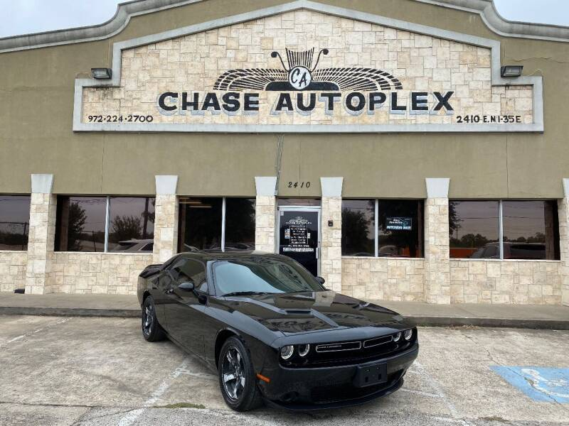 2018 Dodge Challenger for sale at CHASE AUTOPLEX in Lancaster TX