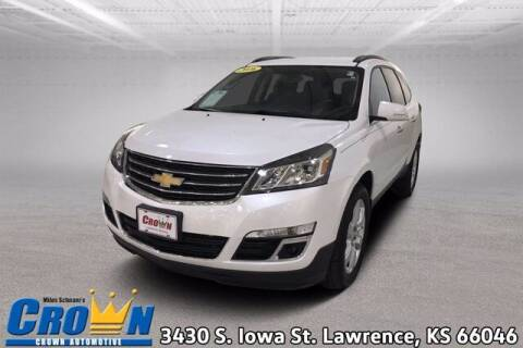 2016 Chevrolet Traverse for sale at Crown Automotive of Lawrence Kansas in Lawrence KS