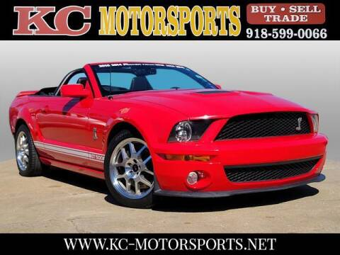 2009 Ford Shelby GT500 for sale at KC MOTORSPORTS in Tulsa OK