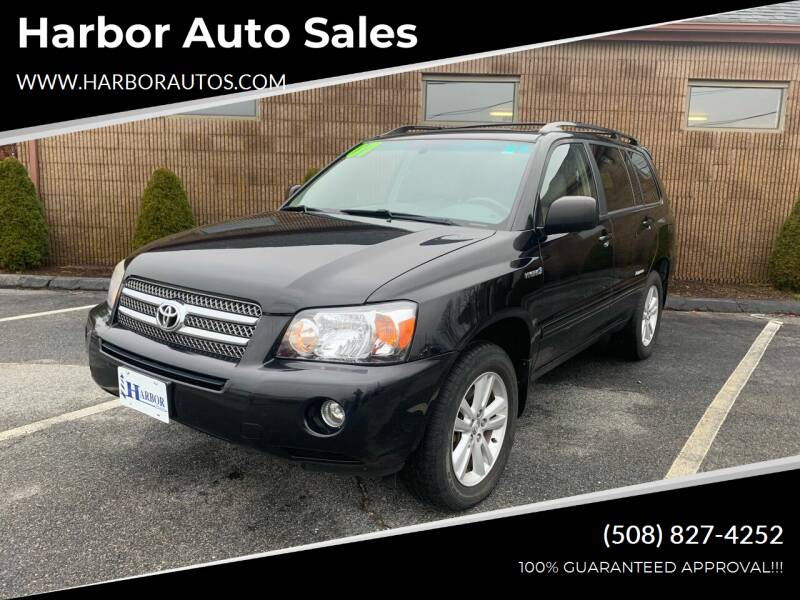 2007 Toyota Highlander Hybrid for sale at Harbor Auto Sales in Hyannis MA