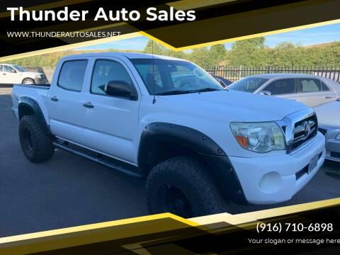2008 Toyota Tacoma for sale at Thunder Auto Sales in Sacramento CA