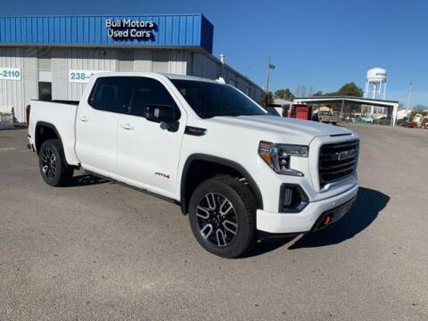 2019 GMC Sierra 1500 for sale at BULL MOTOR COMPANY in Wynne AR