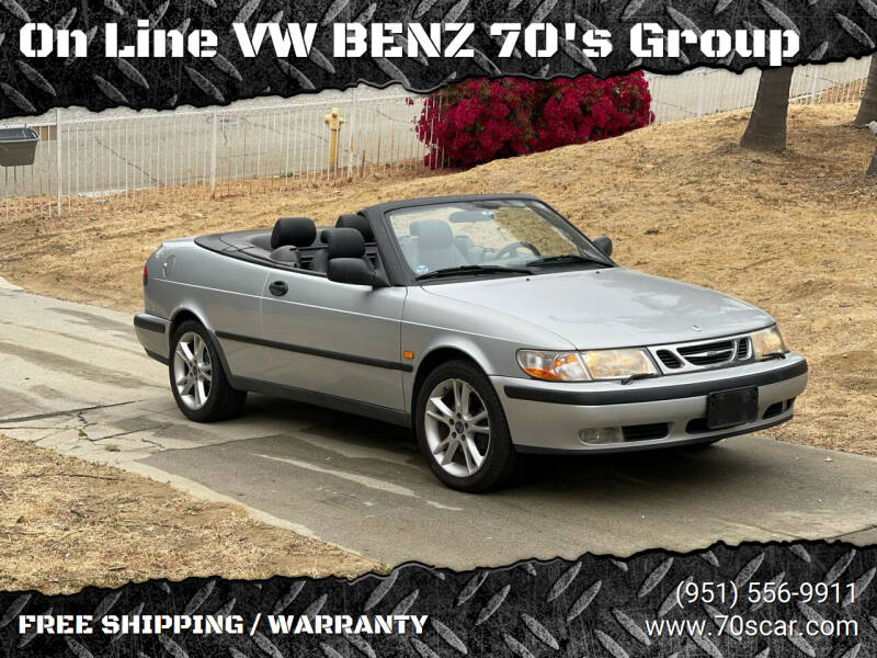 1999 Saab 9-3 for sale at OnLine VW-BENZ.COM Auto Group in Riverside CA