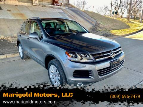2011 Volkswagen Touareg for sale at Marigold Motors, LLC in Pekin IL