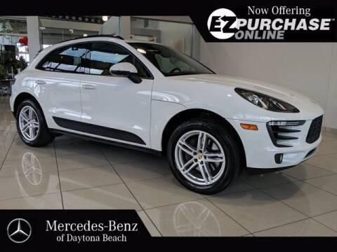 2018 Porsche Macan for sale at Mercedes-Benz of Daytona Beach in Daytona Beach FL