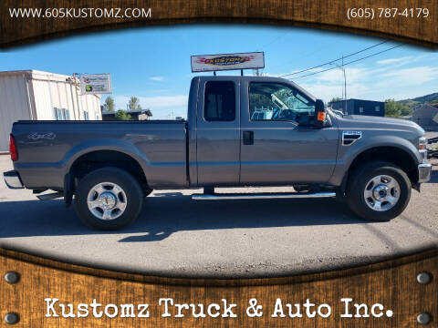 2009 Ford F-250 Super Duty for sale at Kustomz Truck & Auto Inc. in Rapid City SD