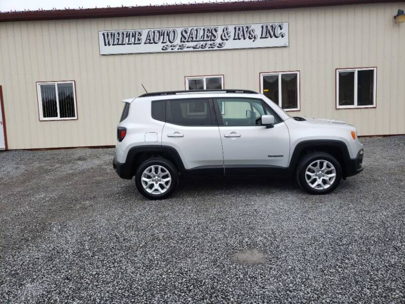 2017 Jeep Renegade for sale at White Auto Sales Inc in Summersville WV