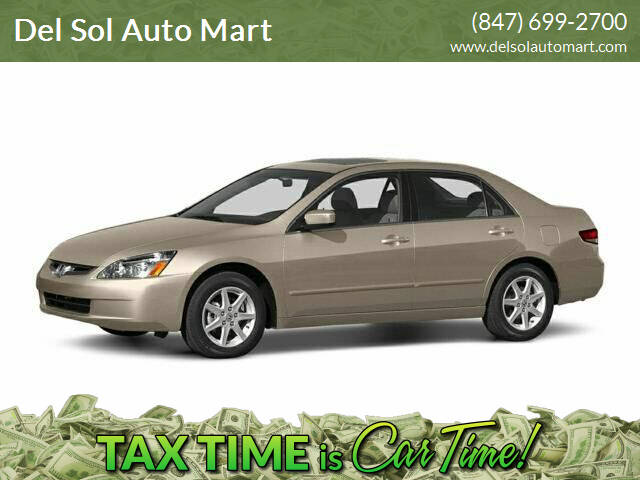 2005 Honda Accord for sale at Del Sol Auto Mart in Des Plaines IL
