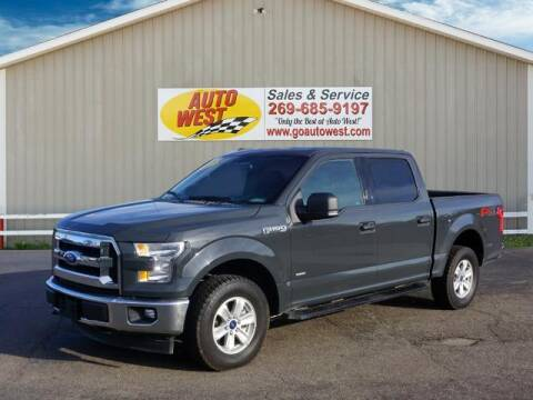2017 Ford F-150 for sale at Autowest of Plainwell in Plainwell MI