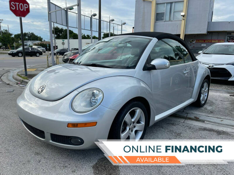 2006 Volkswagen New Beetle Convertible for sale at Global Auto Sales USA in Miami FL