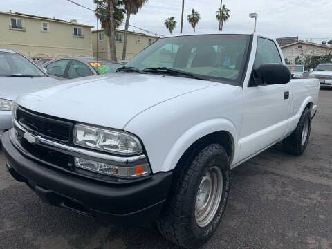 2003 Chevrolet S-10 for sale at North County Auto in Oceanside CA