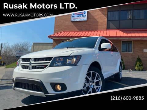 2019 Dodge Journey for sale at Rusak Motors LTD. in Cleveland OH