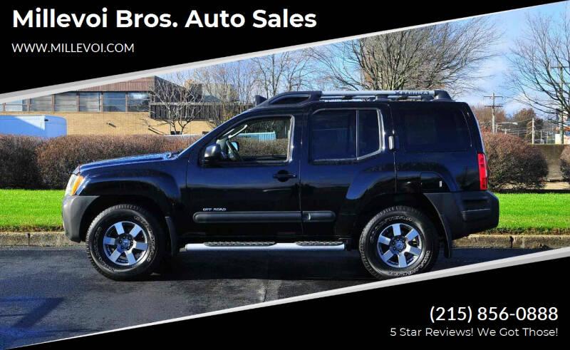 2010 Nissan Xterra for sale at Millevoi Bros. Auto Sales in Philadelphia PA