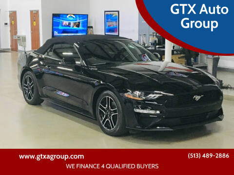 2019 Ford Mustang for sale at GTX Auto Group in West Chester OH