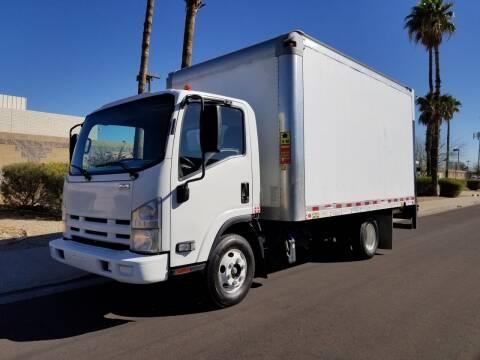 2014 Isuzu NPR DSL REG AT ECO-MAX for sale at SULLIVAN MOTOR COMPANY INC. in Mesa AZ