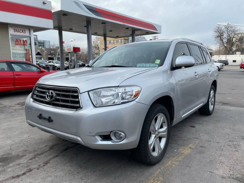 2010 Toyota Highlander for sale at Capitol Hill Auto Sales LLC in Denver CO