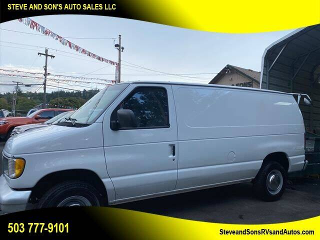 1999 Ford E-250 for sale at Steve & Sons Auto Sales in Happy Valley OR