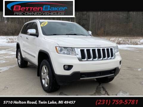 2011 Jeep Grand Cherokee for sale at Betten Baker Preowned Center in Twin Lake MI