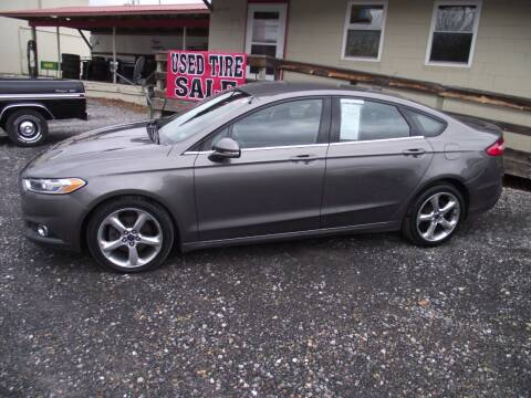2013 Ford Fusion for sale at Country Truck and Car Lot II in Richfield PA