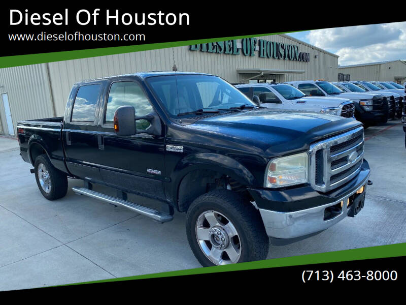 2006 Ford F-250 Super Duty for sale at Diesel Of Houston in Houston TX
