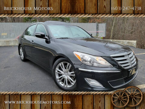 2012 Hyundai Genesis for sale at Brickhouse Motors in Brentwood NH